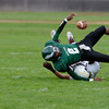 Lansingburgh against Green Tech during first quarter of high school football action Saturday, September 14, 2013 at Bleecker Stadium, in Albany, N.Y.. (J.S.CARRAS/THE RECORD)