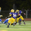 J.S.Carras/The Record Bishop Maginn against Troy during third quarter of high school football action Friday, September 27, 2013 at Troy High School in Troy, N.Y..