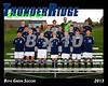 2013 TRHS Soccer Boys Green 16x20 Team Photo
