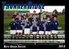 2013 TRHS Soccer Boys Green 5x7 Team Photo