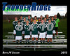 2013 TRHS Soccer Boys JV 16x20 Team Photo