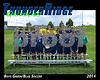 2014 TRHS Soccer Boys GreenBlue 16x20 Team Photo