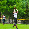 Groton-Dunstable shortstop Rose O'Malley fields a popup during Friday's loss.<br /> Nashoba Valley Voice/Ed Niser