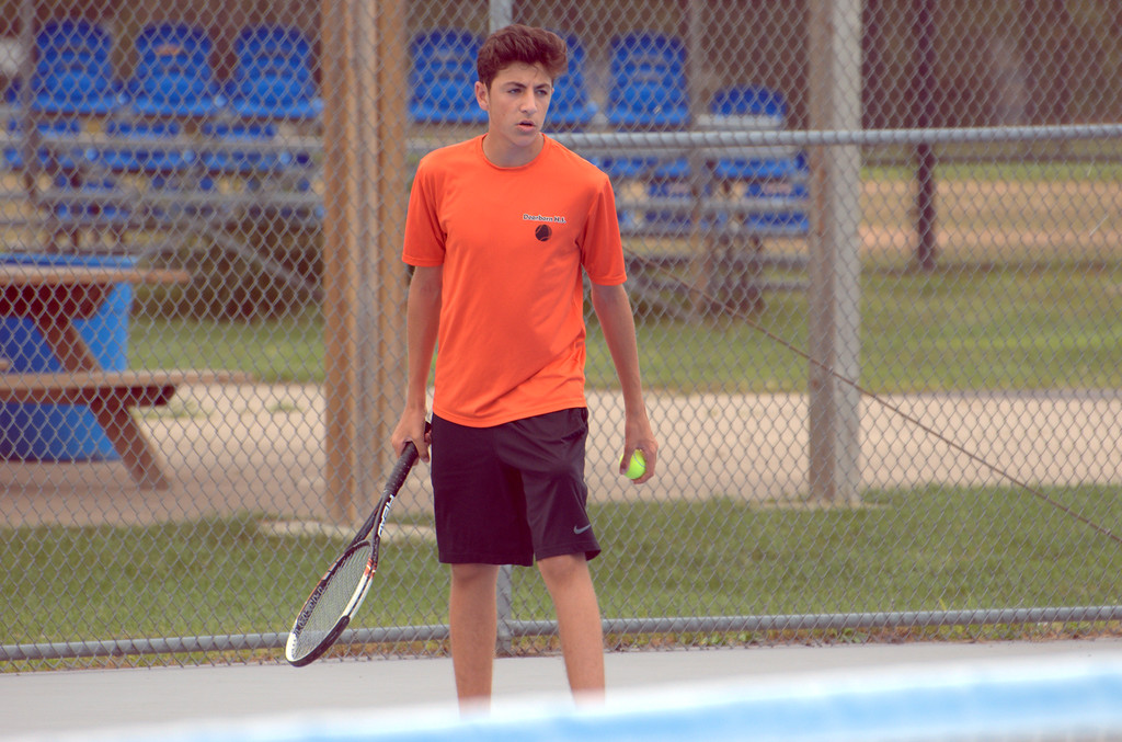 . Grosse Ile hosted its annual boys\' tennis invitational on Saturday. Frank Wladyslawski - Digital First Media