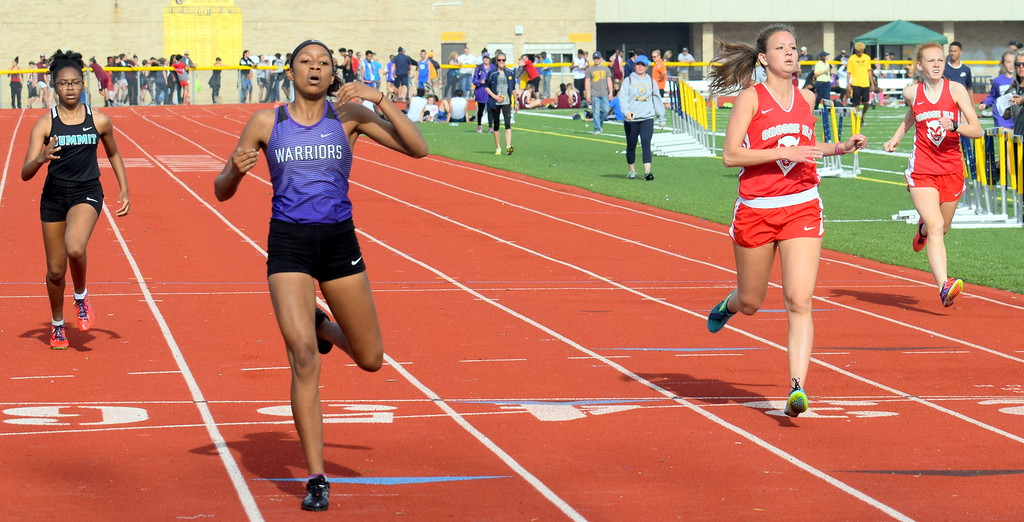 . The second annual Metro Classic Track and Field Invitational was held on Monday at Wyandotte Roosevelt, following a postponement on Saturday due to inclement weather.  Photo by Frank Wladyslawski - The News-Herald