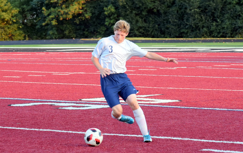 Joseph Misovich and the Allen Park Cabrini Monarchs jumped out to a two-goal lead on Tuesday night at Riverview Gabriel Richard. However, the squad ultimately fell by a score of 4-2. Frank Wladyslawski - Digital First Media