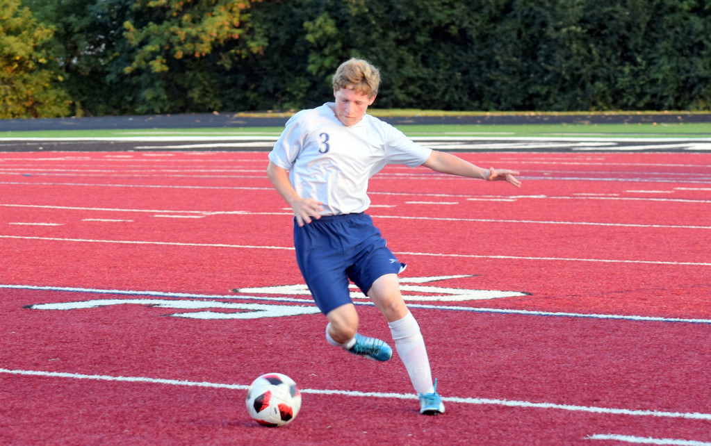 . Joseph Misovich and the Allen Park Cabrini Monarchs jumped out to a two-goal lead on Tuesday night at Riverview Gabriel Richard. However, the squad ultimately fell by a score of 4-2. Frank Wladyslawski - Digital First Media