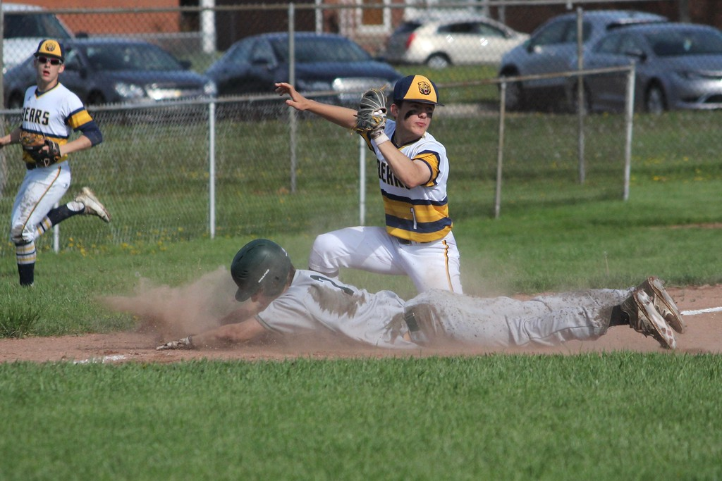 . Allen Park went on the road Wednesday afternoon and edged Wyandotte Roosevelt by a score of 2-1.  Photo by Ricky Lindsay - For The News-Herald