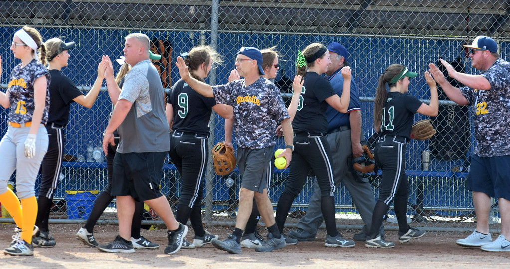 . Allen Park traveled to Wyandotte on Wednesday afternoon and held on for a 2-1 victory over the Roosevelt Bears. Photo by Frank Wladyslawski - The News-Herald
