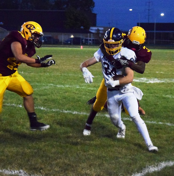 Riverview welcomed in Carleton Airport on Friday night and defeated the Jets by a score of 20-9. Alex Muller - Digital First Media