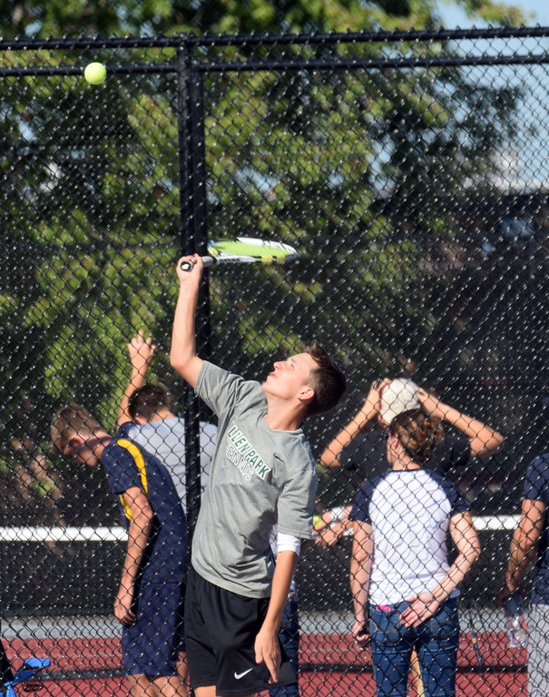 . The 2017 Downriver League Meet was held on Monday afternoon and Trenton came away with first place. Photo by Frank Wladyslawski - The News-Herald