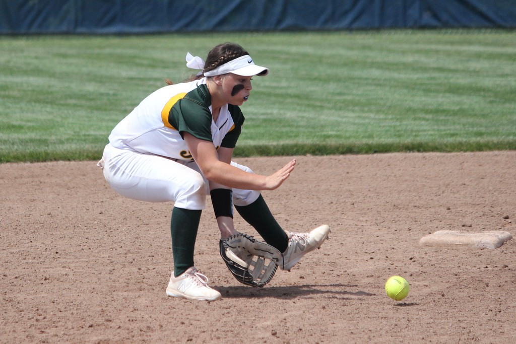 . Flat Rock defeated Milan by a score of 3-2 in nine innings on Monday at Carleton Airport for the Division 2, Region 14 championship. In the semifinals, the Rams knocked Ann Arbor Gabriel Richard 11-3. Photo by Ricky Lindsay - For The News-Herald