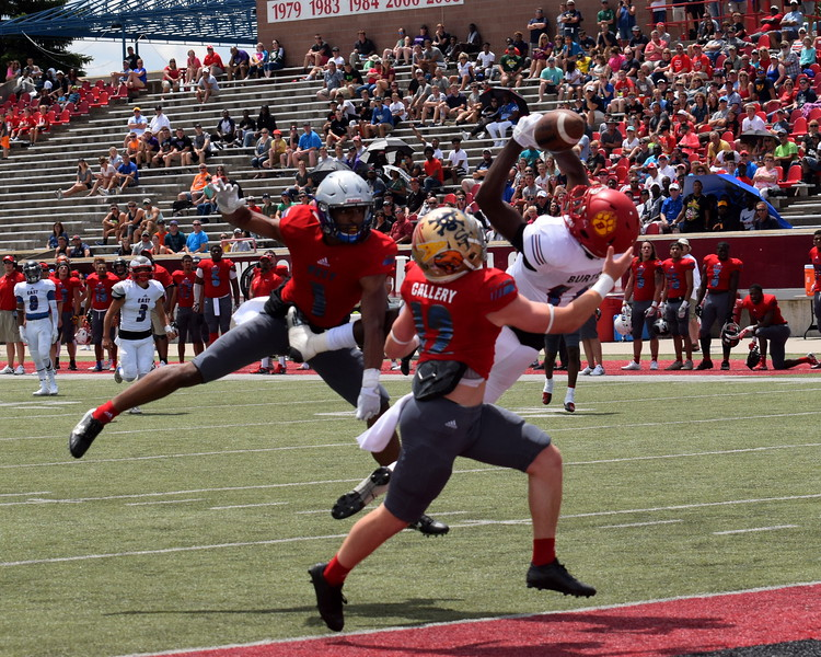 The East team defeated the West by a score of 21-0 on Saturday at Saginaw Valley State University in the 2017 Michigan High School Football Coaches Association All-Star Game. (News-Herald Photo Gallery by Frank Wladyslawski)