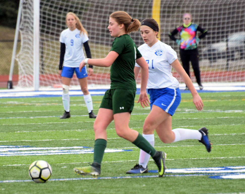 . Gibraltar Carlson and visiting Allen Park played to a 1-1 tie on Wednesday night. Photo by Frank Wladyslawski - The News-Herald