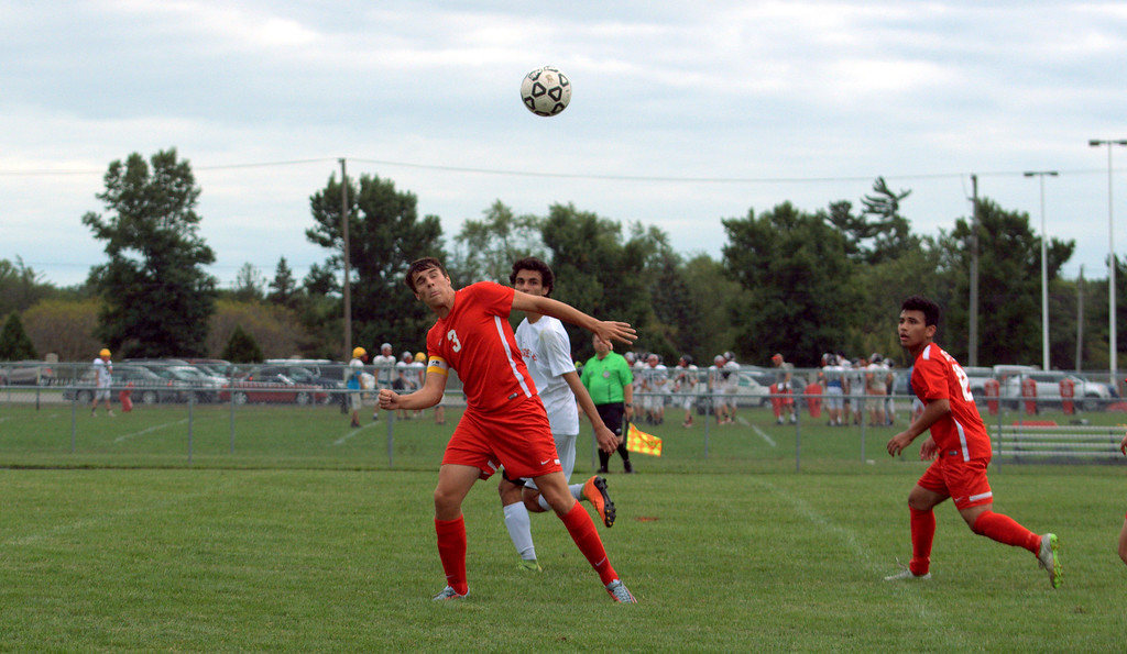 . Grosse Ile headed to New Boston Huron on Wednesday night and defeated the Chiefs by a score of 5-0. Frank Wladyslawski - Digital First Media