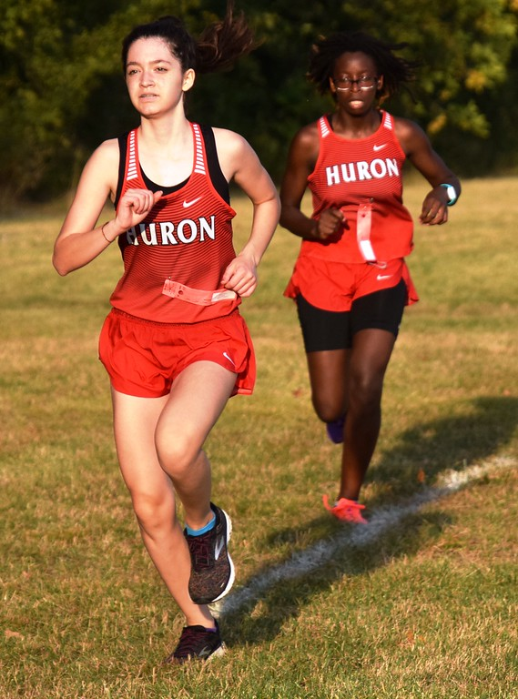 . The first Huron League Jamboree of 2018 was held on Tuesday afternoon at Young Patriots Park in Riverview. Grosse Ile came away with first place on both the boys\' side and the girls\' side.  Alex Muller - For Digital First Media