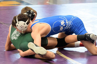 Gibraltar Carlson served as a host for Division 2 individual wrestling districts on Saturday. Photo by Frank Wladyslawski - Digital First Media