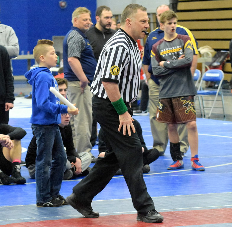. Gibraltar Carlson served as a host for Division 2 individual wrestling districts on Saturday. Photo by Frank Wladyslawski - Digital First Media