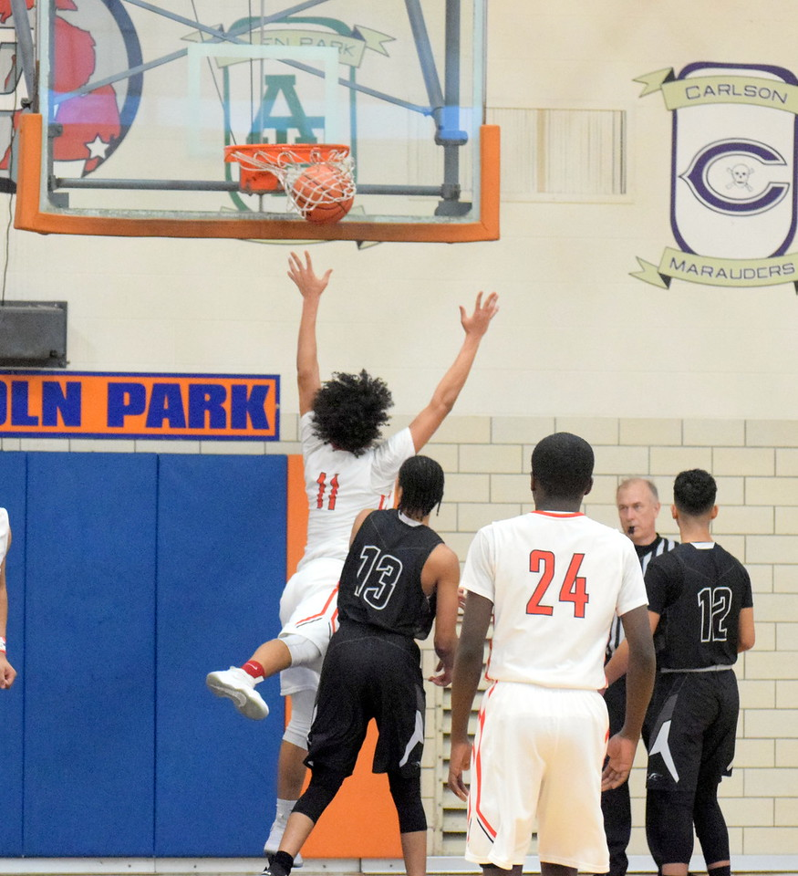 Edsel Ford defeated Melvindale by a score of 43-32 on Friday night in the Class A, District 27 championship at Lincoln Park. Photo by Frank Wladyslawski - Digital First Media