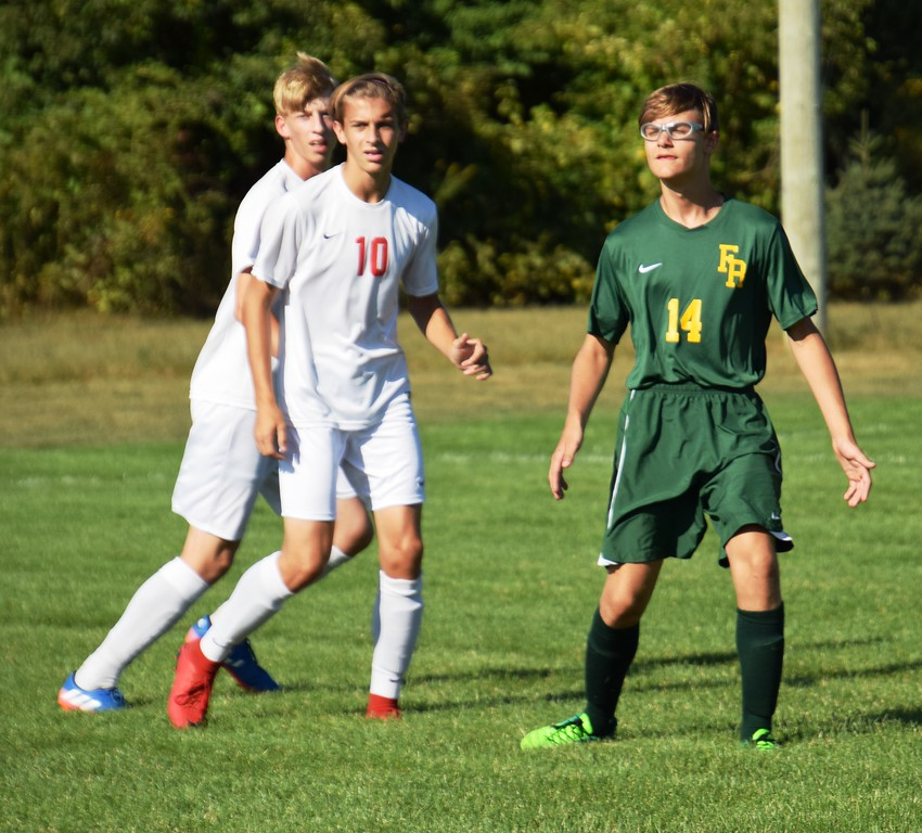 . New Boston Huron headed to Flat Rock on Monday and defeated the Rams by a score of 5-0. Alex Muller - For Digital First Media
