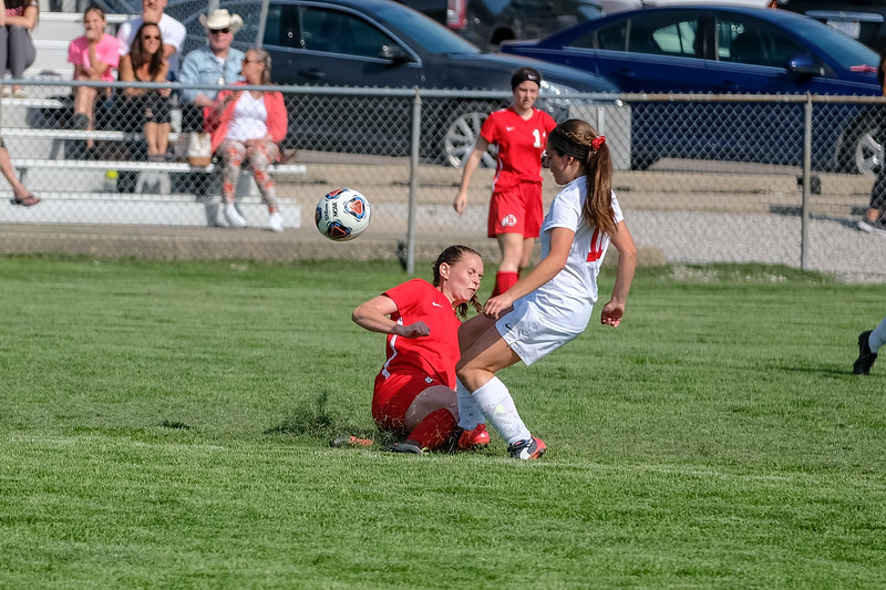 Grosse Ile welcomed in New Boston Huron on Wednesday afternoon and knocked off the Chiefs by a score of 5-0. Photo by Matthew Thompson - For The News-Herald