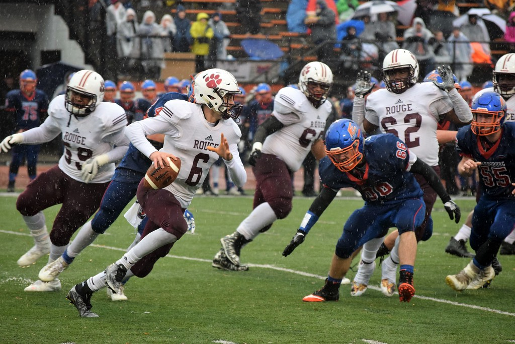 River Rouge Football Falls To Edwardsburg In State Semifinals The