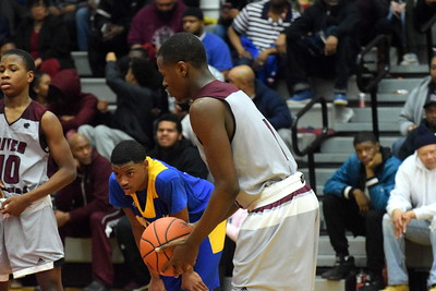 River Rouge defeated St. Clair Shores South Lake 75-32 in the Class B, Region 12 semifinals on Monday night at Livonia Clarenceville. Photo by Frank Wladyslawski - Digital First Media