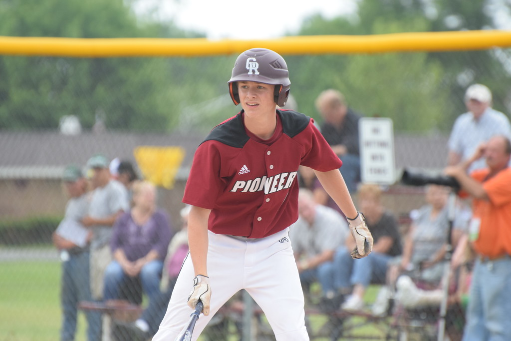 . Riverview Gabriel Richard defeated Michigan Center by a score of 10-2 on Tuesday in a Division 3 state quarterfinal.  With the win, the Pioneers advanced to the state semifinals. Photo by Anna Lisa Fedor