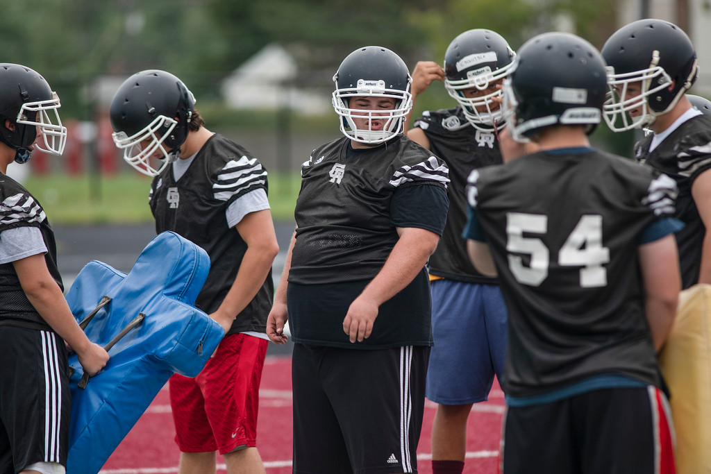 . After a 9-2 finish in 2017, Riverview Gabriel Richard began the new season on Monday in what was the first day of high school football practice in Michigan. Joshua Tufts - For Digital First Media