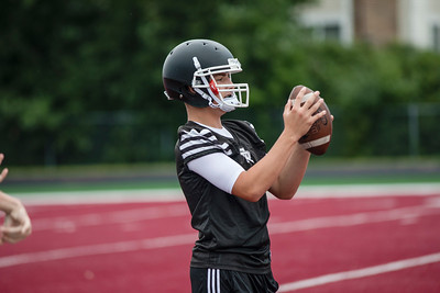 After a 9-2 finish in 2017, Riverview Gabriel Richard began the new season on Monday in what was the first day of high school football practice in Michigan. Joshua Tufts - For Digital First Media