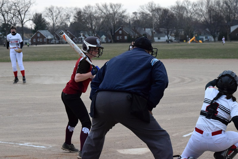 Riverview Gabriel Richard headed to Dearborn Divine Child on Friday for a doubleheader. The  Falcons won the first game by a score of 9-4 and the Pioneers won the second game 6-4. Photo by Alex Muller - For  Digital First Media