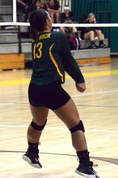 Flat Rock hosted Riverview on Monday night and defeated the Pirates by a score of 3-2. (22-25, 25-18, 11-25, 25-21, 15-13). Alex Muller - For Digital First Media