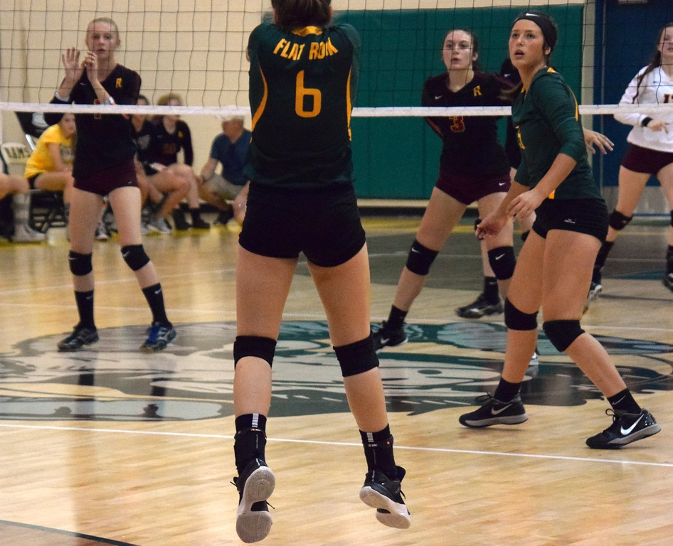 . Flat Rock hosted Riverview on Monday night and defeated the Pirates by a score of 3-2. (22-25, 25-18, 11-25, 25-21, 15-13). Alex Muller - For Digital First Media