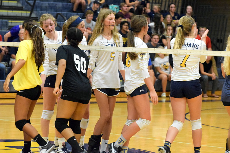 Trenton welcomed in Taylor High for a Downriver League match on Thursday night and swept the Griffins 3-0 (25-11, 25-13, 25-9). Frank Wladyslawski - Digital First Media