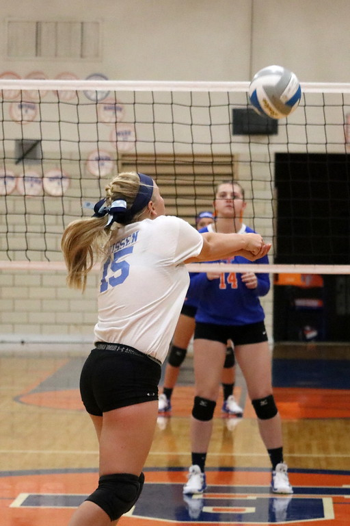 . In Wednesday\'s Class A, District 27 semifinals, Allen Park defeated Edsel Ford 3-2 and host Lincoln Park knocked off Taylor Truman 3-0. Photo by Ryan Dickey - For Digital First Media