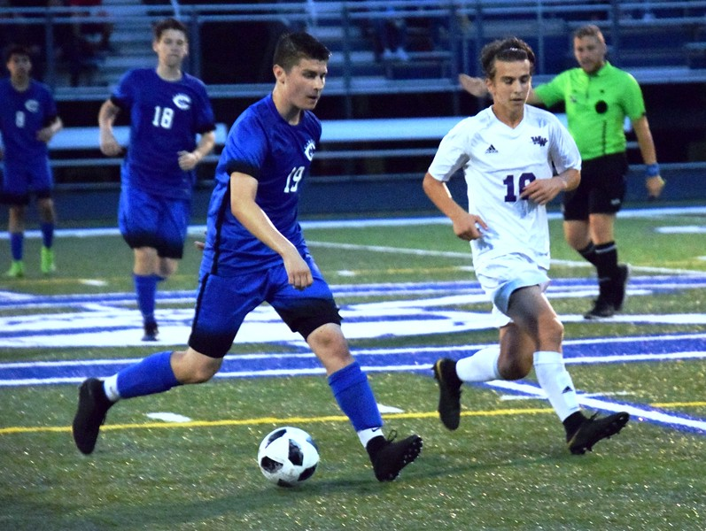 Woodhaven headed to Gibraltar Carlson on Wednesday night and defeated the Marauders by a score of 3-2. Alex Muller - For Digital First Media