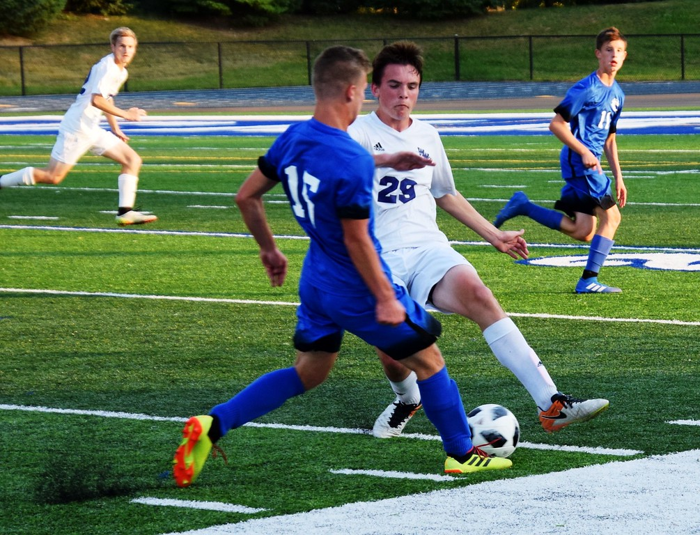 . Woodhaven headed to Gibraltar Carlson on Wednesday night and defeated the Marauders by a score of 3-2. Alex Muller - For Digital First Media