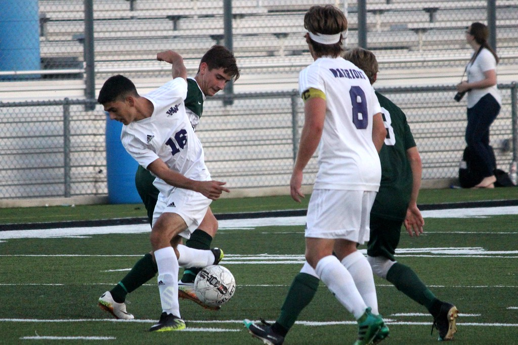 . To kick off the final week of the regular season, Woodhaven welcomed in Allen Park on Monday night and defeated the Jaguars 2-0. Photo by Ricky Lindsay - For The News-Herald