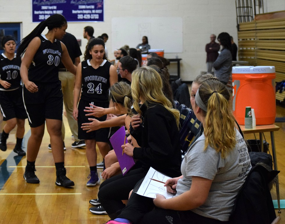 . Woodhaven traveled to Crestwood on Friday night for its season opener and edged the Chargers by a score of 73-72. Photo by Alex Muller - For The News-Herald