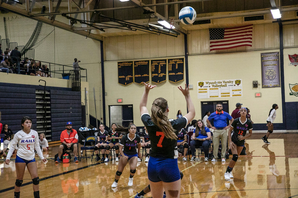 . Wyandotte Roosevelt hosted its annual volleyball invitational on Saturday. Riverview Gabriel Richard came away with the championship in the gold bracket and Roosevelt won the silver bracket. Joshua Tufts - For Digital First Media
