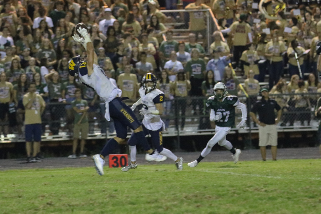 . Allen Park hosted Wyandotte Roosevelt on Friday night and defeated the Bears by a score of 30-14. Jack VanAssche - For Digital First Media