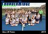 2014 TRHS JV Tennis 5x7 Team Photo