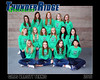 2016 Tennis Girls Varsity Team 16x20