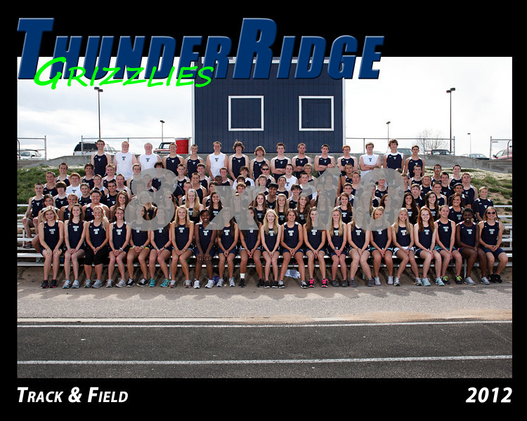 2011 TRHS Track and Field 16x20 Team Photo