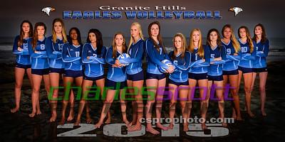 Granite Hills Girls Volleyball