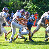 Groton-Dunstable hosted Dracut and Lowell Catholic in a tri-scrimmage Tuesday afternoon at the high school.<br /> Nashoba Valley Voice/Ed Niser