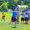 Groton-Dunstable participated in its first limited contact practice Tuesday morning. Nashoba Valley Voice/Ed Niser