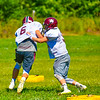 Groton-Dunstable held its first limited contact practice Tuesday morning. Nashoba Valley Voice/Ed Niser