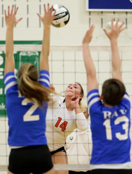 High School Volleyball: Buckeye snaps tournament drought