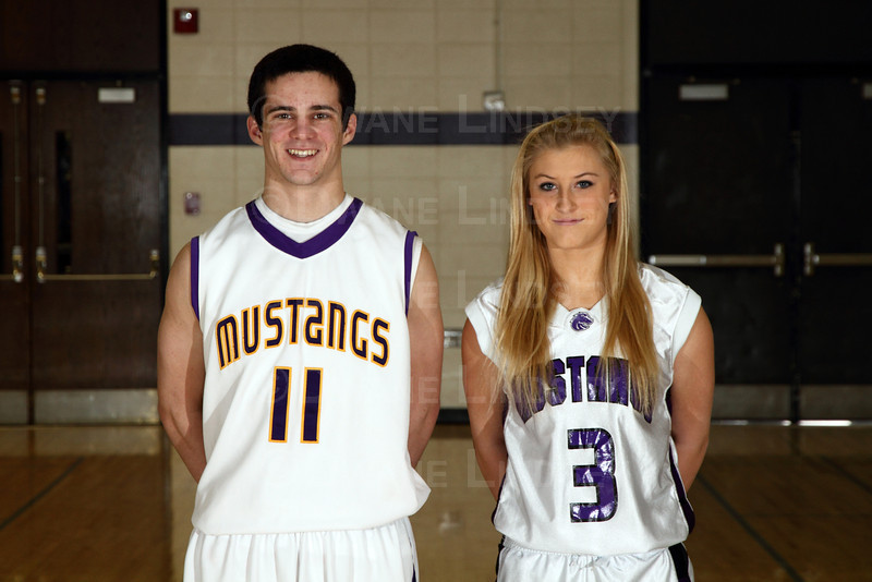 Brian and Jackie - MSL East Players of the Year - 2011-2012
